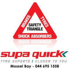 Vehicles with worn shock absorbers will not come to an emergency stop as quickly as with regularly replaced shock absorbers. Check your shocks when replacing your brakes or tyres at #supaquick. #safedriving