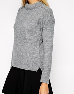 Enlarge Whistles Alissa Jumper with Padded Neck - 40% wool