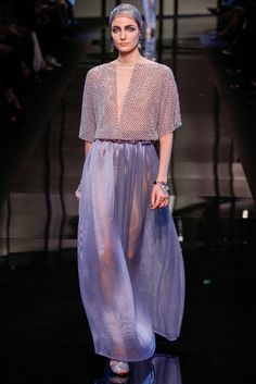 Giorgio Armani - Paris Fashion Week S/S 2014