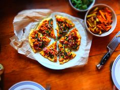 GLUTEN FREE, GRAIN FREE, DAIRY FREE, SOY FREE, EGG FREE, PALEO  You may have already read about the great love I have for pizza in my  Barbeque Chicken Pizza recipe. Anyway, I love pizza and have made SO many  different types of pizza. That said there are definitely a few 'star'  combo's. Th