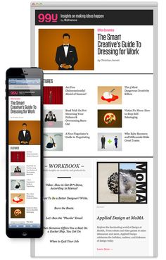Behance in Webdesign
