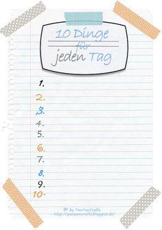 kostenlose Druckvorlage: To-Do Liste für dich selbst;