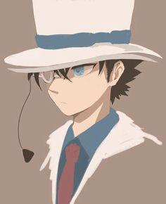 Detective, Kaito Kuroba, Kaito Kid, Detektif Conan, Digital Art Anime, Kudo Shinichi, Magic Kaito, Amuro Tooru, Manga