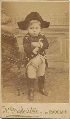 First photo of Napoleon Bonaparte aged 4!