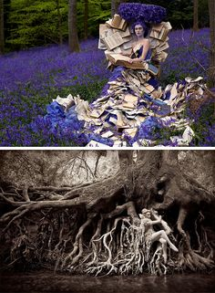 The photographer Kirsty Mitchell