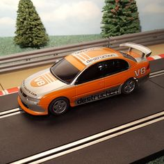 Slot Car Racing, Slot Cars, Holden Commodore, Campaign, Orange, Medium, Products, Slot Car Tracks, Gadget
