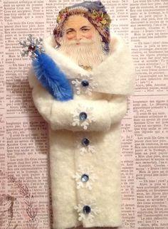 Spun Cotton Ornament - sold