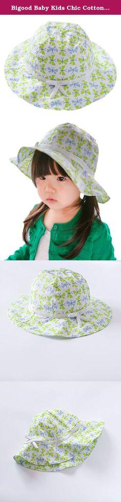 YueLian Baby Girls Polka Dots Sun UPF 50 Casual Outdoor Bucket Hats