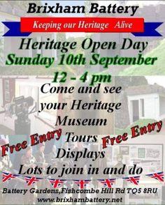 Brixham Battery Heritage Weekend