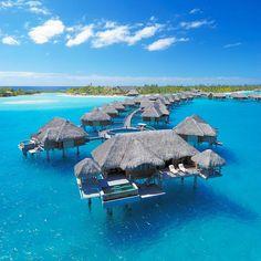 """Overwater Bungalow Suites"", Four Seasons Bora Bora Resort"