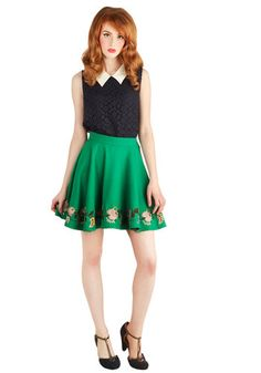 Say a Little Prairie Skirt, #ModCloth