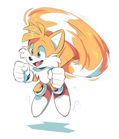 Tails the Fox . Sonic The Hedgehog, Silver The Hedgehog, Shadow The Hedgehog, Sonic Funny, Dope Cartoons, Sonic Franchise, Sonic And Shadow, Sonic Fan Art, Pokemon