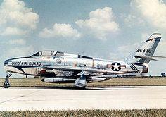 First flight of the Republic F-84F Thunderstreak 3/6 1950.