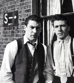 The Kray Brothers.