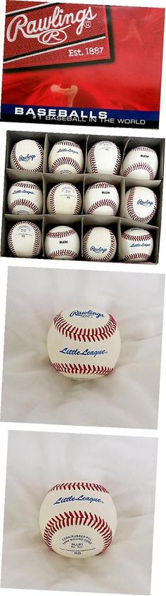 Baseballs 73893: Rawlings Little League Rllb-1 Blem 9 Inch, 5 Ounce Baseballs, One Dozen -> BUY IT NOW ONLY: $52.74 on eBay!