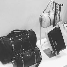 grab your #bag #ladies !! happy #fashion tuesday  @zadigetvoltaire #leather #love