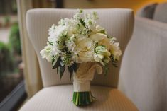 Winter Bridal Bouquet  Photo by Dark Roux Photography