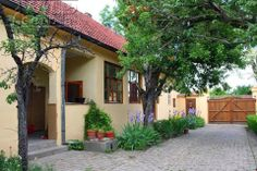 Traditional house in Vojvodina, Serbia