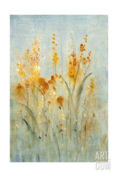 Spray of Wildflowers II Art Print by Tim O'toole at Art.com