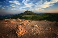 The Puy de Dome, North Face by ~MaximeCourty