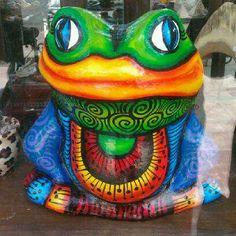 DIOSAS: Esta es la rana de la suerte!!!