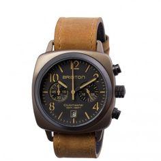 Clubmaster Classic Steel Chronograph Khaki - Briston watches