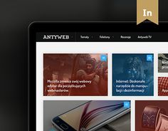 "Check out new work on my @Behance portfolio: ""Antyweb Redesign 2015"" http://be.net/gallery/40134369/Antyweb-Redesign-2015"