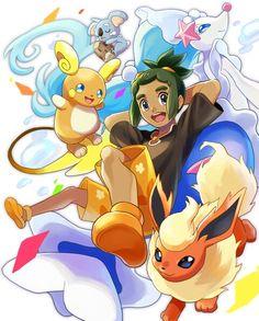 Pokemon Sun and Moon- Trainer Hau
