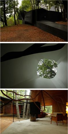 Smiljan Radic - House of the Poem for the right angle, Vilches 2012 Space Architecture, Amazing Architecture, Art Design, Modern Design, Patagonia, Latina, River Lodge, Modern Materials, Architect Design