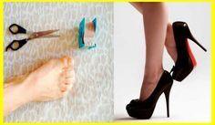 Mal di piedi con i tacchi alti? Ecco un semplice trucco... Tacos Altos, Feet Care, Tricks, Natural Health, Stiletto Heels, Beauty Hacks, Beauty Tips, The Cure, Christian Louboutin
