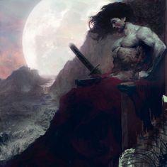 King of the moon.. by hoooook.deviantart.com on @deviantART