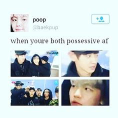 chanbaek is real Exo Chanbaek, Exo Ot12, Baekhyun Chanyeol, Exo Memes, Funny Memes, K Pop, Exo For Life, I Dont Miss You, Exo Facts