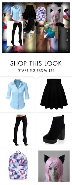 """""""Lizzie's Security Guard outfit"""" by lizzie12304 on Polyvore featuring Freddy, LE3NO, Commando, New Look, Accessorize and Mystic Light"""