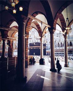 Have faith and trust in Allah and know that Allah's Plan for you is the best of plans and nothing can supercede it. Mecca Madinah, Mecca Masjid, Islamic Images, Islamic Pictures, Mecca Images, Masjid Haram, Pilgrimage To Mecca, Mekkah, Islamic Architecture