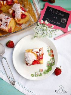 Prăjitură ușoară cu căpșuni | ritailies.ro