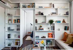 Apartamento pequeno: em 30 m² espaço para tudo! Graças à marcenaria   CASA.COM.BR