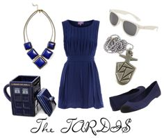 Outfits on polyvore for Captain Jack, Rose, Rory, Amy, River Song, 4, 10, 11 , the Daleks and the TARDIS.