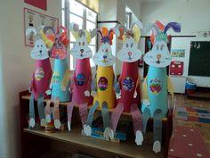 Trabalhos fantásticos elaborados pelo grupo de crianças da sala 2 do Jardim de Infância de Avis