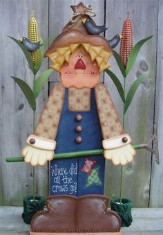 Fall Wood Crafts, Thanksgiving Crafts, Wooden Crafts, Thanksgiving Decorations, Halloween Decorations, Paper Crafts, Diy Crafts, Arte Country, Pintura Country