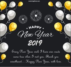 1682 Best Happy New Year 2019 Wishes Quotes Poems Pictures Images