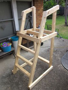 plans for building a platform for a diy slide diy toys playground slide backyard slide. Black Bedroom Furniture Sets. Home Design Ideas