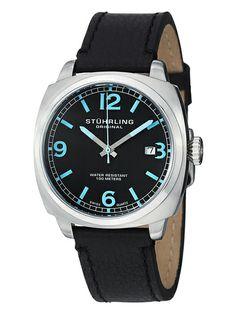 Men's Stainless Steel Swiss Watch