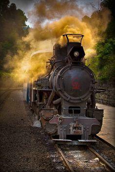 SiChuan, China: Built in 1958 to reach the Bajiaogou Coal Mine. #Trains