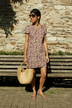 Morissette, Short Sleeve Dresses, Delphine, Sewing, Casual, Corsages, Outfits, Inspiration, Clothes