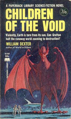 scificovers: Children Of The Void by TinTrunk on. Fantasy Book Covers, Book Cover Art, Comic Book Covers, Fantasy Books, Book Art, Fantasy Art, Pulp Fiction Book, Science Fiction Books, Classic Sci Fi Books