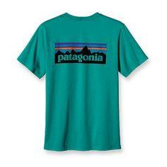 Patagonia Men's P-6 Logo T-Shirt
