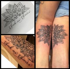 Thick as Thieves - Super Cute Matching Tattoo Ideas For You and Your Best Friend - Photos