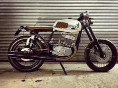 JAWA 200cc 2T. Café Race