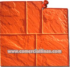 #Sillería Laja 2. Moldes para hormigón impreso. La tienda de Comercial Llinás. #moldes para marcar hormigón impreso. http://tienda.comerciallinas.com/Silleria-Laja-2