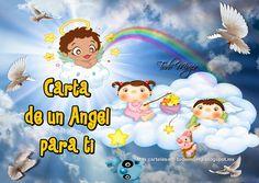 Todo Mujer: CARTA DE UN ANGEL PARA TI